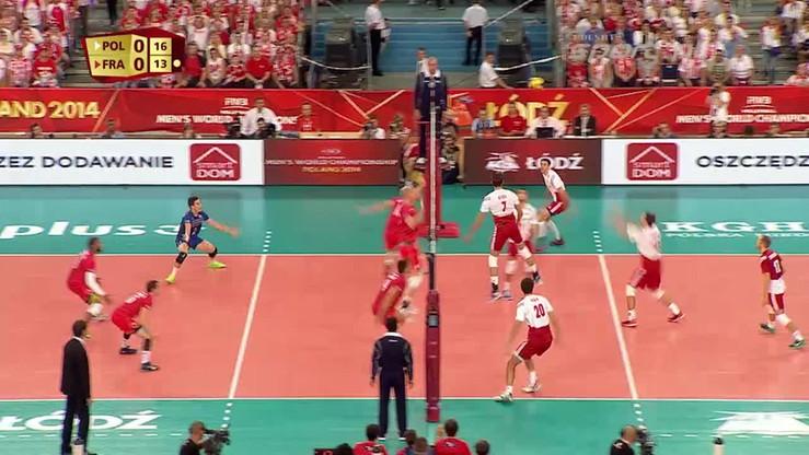 Polska - Francja 3:2. Skrót meczu