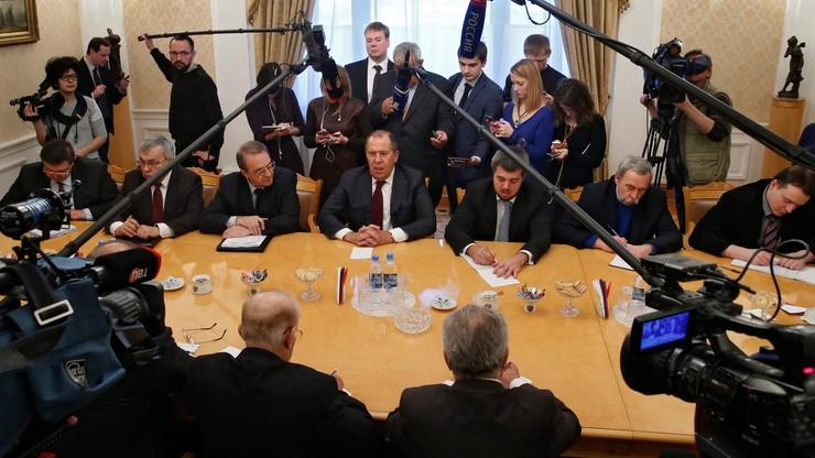Ławrow: rozmowy w Genewie w sprawie Syrii pod koniec lutego