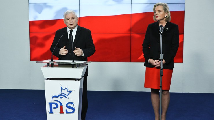 Anna Maria Anders kandydatką PiS na senatora. Kaczyński: będziemy prowadzili bardzo aktywną kampanię