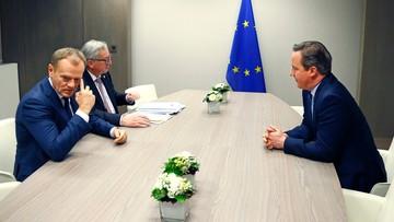 19-02-2016 05:01 Bruksela: jest postęp ws. Wielkiej Brytanii, ale negocjacje trwają