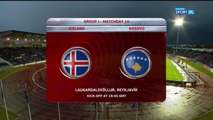 Islandia - Kosowo 2:0. Skrót meczu