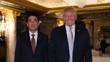 18-11-2016 05:34 Premier Japonii: Trump to lider godny wielkiego zaufania