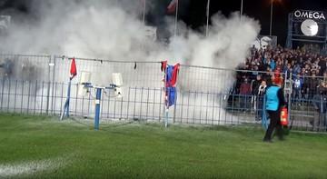 2017-10-16 Nice 1 Liga: Raków wydał oświadczenie po zamieszkach w Chorzowie