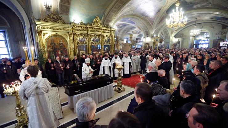 Pogrzeb dyrektora słynnego chóru Aleksandrowa. Zginął w katastrofie Tu-154