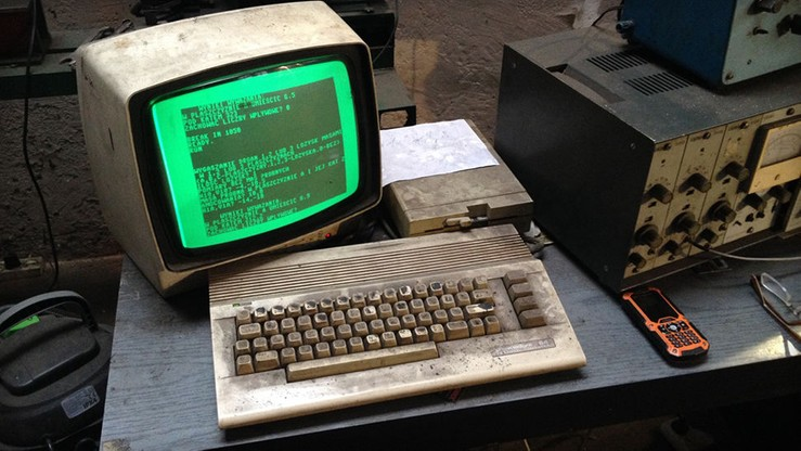 C64 na chodzie od 1990 roku. W warsztacie w Gdańsku