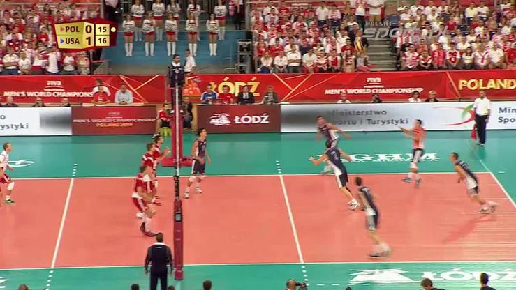 Polska - USA 1:3. Skrót meczu