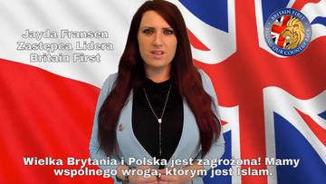 05-05-2016 07:51 Brytyjscy nacjonaliści walczą o głosy Polaków. Twierdzą, że islam jest naszym wspólnym wrogiem