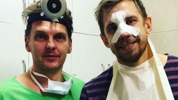 2016-10-12 Ofiara Mateusza Kusa ze złamanym nosem