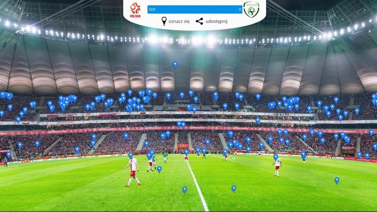Gigapanorama z meczu Polska - Irlandia! Znajdź swoją osobę!