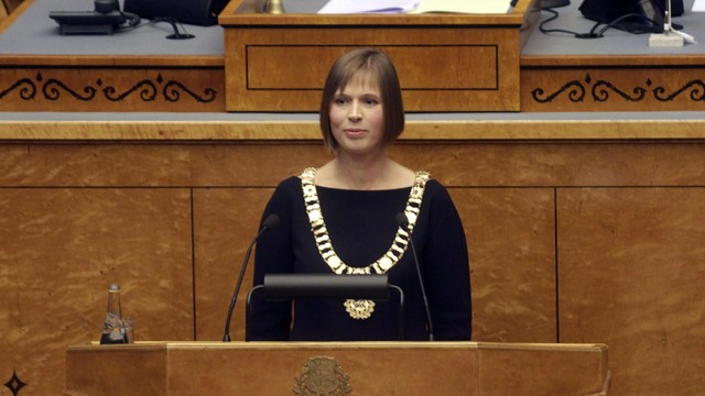 Kersti Kaljulaid nowym prezydentem Estonii