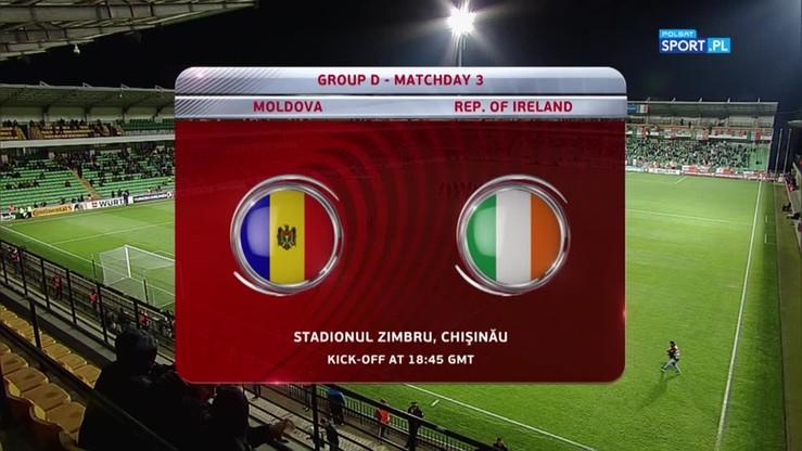 2016-10-09 Mołdawia - Irlandia 1:3. Skrót meczu