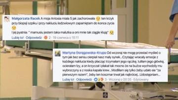 """23-06-2017 18:23 """"Jakby je mordowali"""". Dzieci przechodzą biopsję szpiku bez narkozy. Wstrząsające wpisy rodziców"""