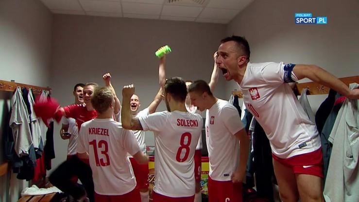 Wielka radość Polaków w szatni po zwycięstwie z Węgrami!