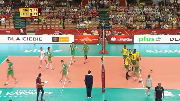 Brazylia - Bułgaria 3:0. Skrót meczu