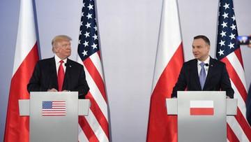 """07-07-2017 10:52 """"Sygnał dla liderów zachodnioeuropejskich"""". Rosyjska prasa o wizycie Trumpa w Polsce"""