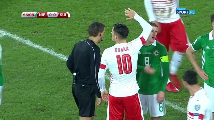 Kontrowersyjny karny w meczu Irlandia Północna – Szwajcaria