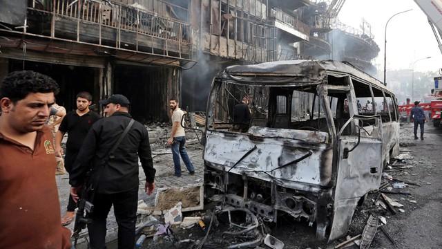 Wciąż rośnie liczba ofiar zamachu w Bagdadzie - prawie 300 osób