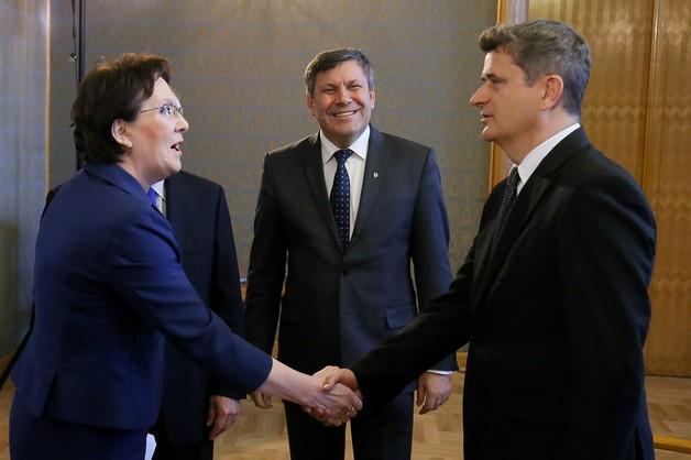 Zakończyło się spotkanie Kopacz z liderami partyjnymi w KPRM