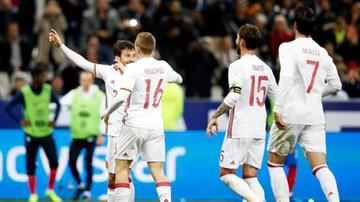 2017-03-28 Hiszpania lepsza od Francji! Świetny mecz... systemu VAR