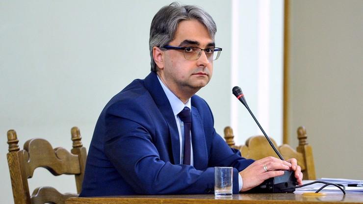 Marcin Olszak przed komisją śledczą