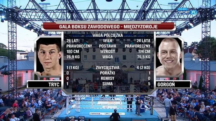 Mateusz Tryc - Przemysław Gorgoń. Skrót walki