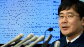 22-11-2016 05:28 Silne trzęsienie ziemi i tsunami w Japonii w okolicy Fukushimy