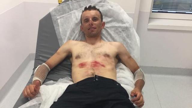 Rafał Majka wrócił do domu, polski kolarz przechodzi rehabilitację