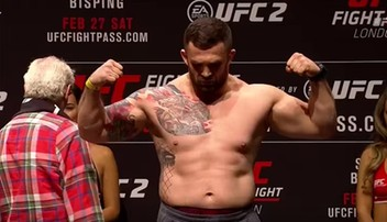 2016-07-12 UFC: Omielańczuk wypełnił limit wagowy! (WIDEO)