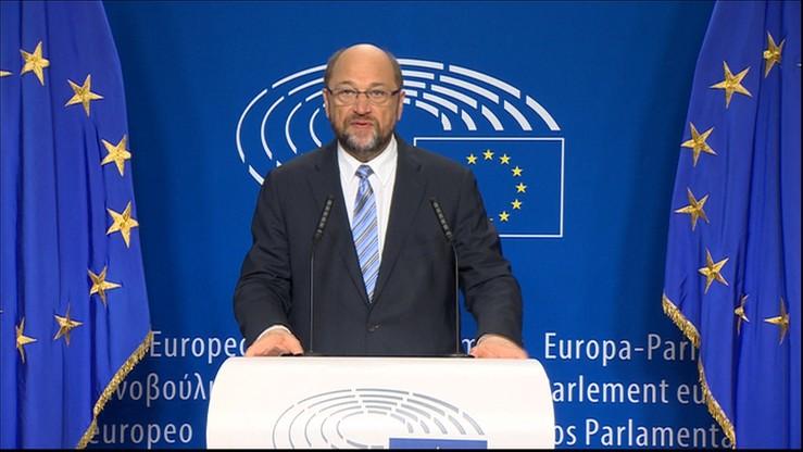 Schulz o Brexicie: nie jestem zszokowany. We wtorek nadzwyczajna sesja PE