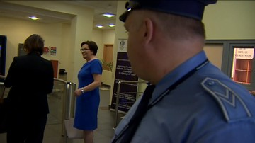 31-05-2017 10:35 Ewa Kopacz stawiła się w Prokuraturze Krajowej