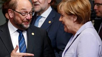 24-01-2017 19:58 Schulz rywalem Merkel w wyborach do Bundestagu