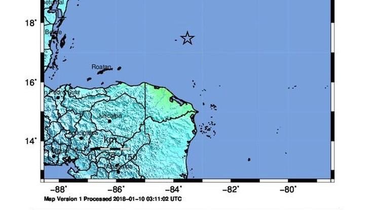 Trzęsienie ziemi o magnitudzie 7,6 na Morzu Karaibskim