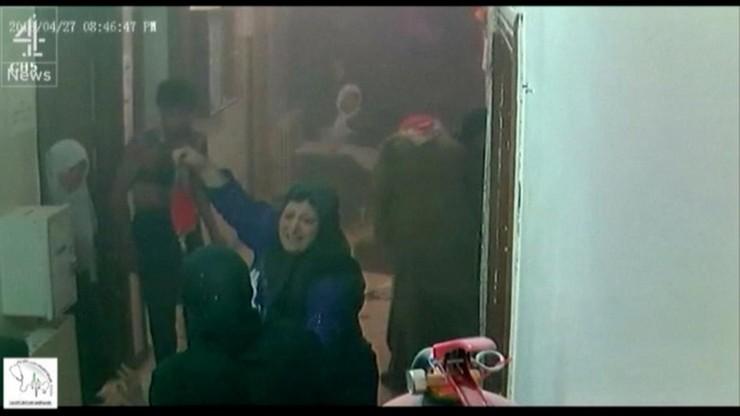 Tak wyglądał atak na szpital w Aleppo