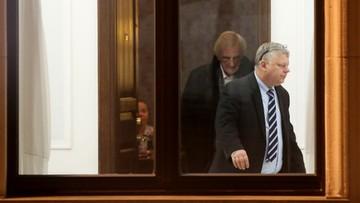 17-12-2016 16:02 Suski vs Szczerba - spór o upadek w Sejmie. Obaj zapowiadają procesy