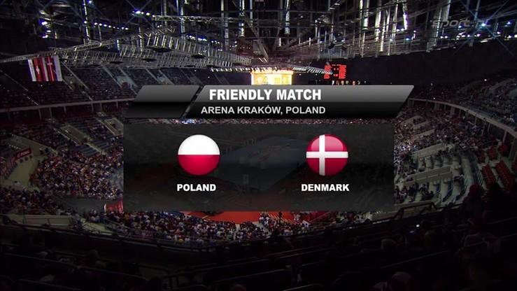 Polska - Dania 23:26. Skrót meczu