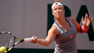 2015-10-16 Paula Kania w półfinale debla w Linzu