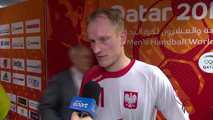 2015-01-16 Wiśniewski: Nasza obrona w meczu z Niemcami była za słaba