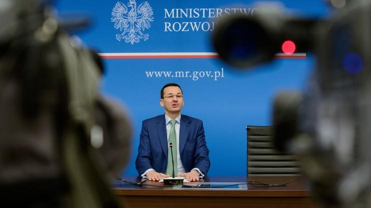 Morawiecki: inwestycje mają generować PKB, a nie koszty