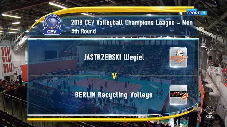 Jastrzębski Węgiel – Berlin Recycling Volleys 3:0. Skrót meczu