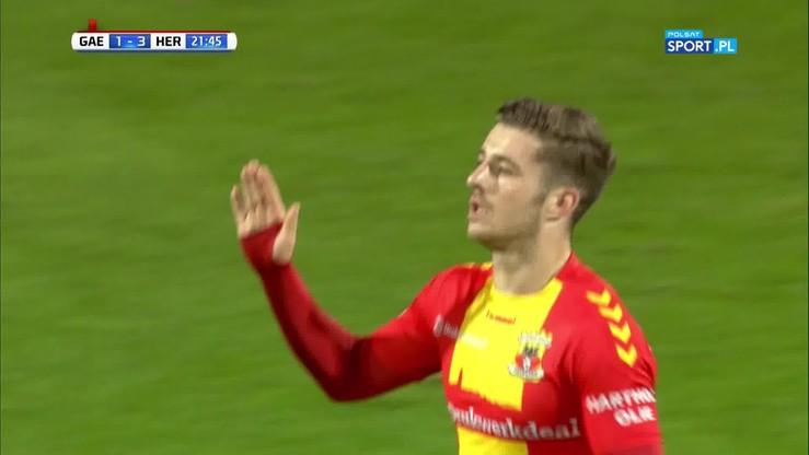 Kapitalny gol w meczu  G.A.Eagles - Heerenveen. Strzelcem... piłkarz Arsenalu