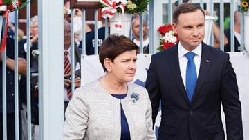 02-09-2016 14:37 Andrzej Duda, Beata Szydło i Paweł Kukiz liderami rankingu zaufaniu wg. sondażu CBOS