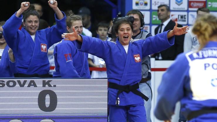 Polki mistrzyniami Europy w judo. Polacy z brązowym medalem