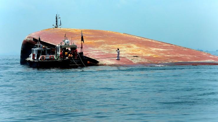 Zderzenie tankowca z pogłębiarką u wybrzeży Singapuru. Prawdopodobnie 5 zabitych