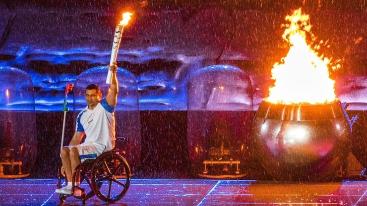 Deszczowe otwarcie igrzysk paraolimpijskich (ZDJĘCIA)