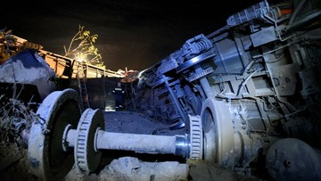 Katastrofa kolejowa w Grecji. Zginęły cztery osoby