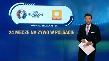 Mecze Polaków w otwartym Polsacie. Oficjalny plan transmisji Euro 2016
