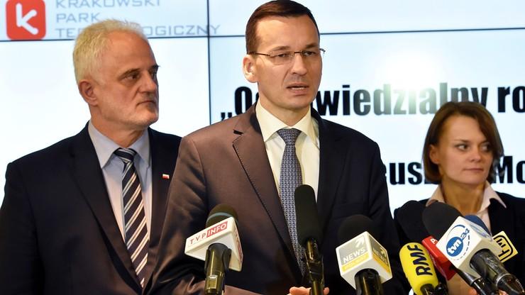 Morawiecki: celem rządu zbudowanie gospodarki opartej na wiedzy