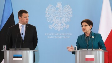 """19-09-2017 10:46 Premier Szydło spotkała się z szefem rządu Estonii. """"Współpraca Polski i państw bałtyckich musi być silna"""""""