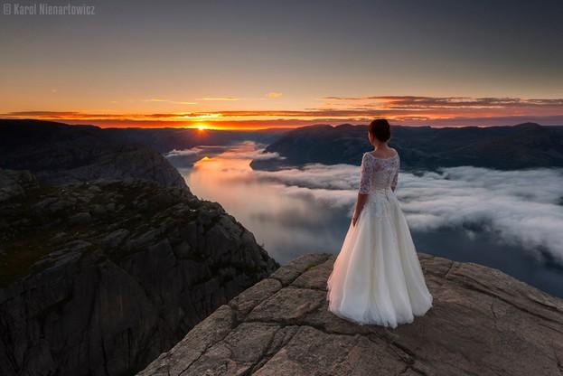 Sesja ślubna, która zachwyca się świat