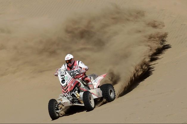 Rafał Sonik wygrał 5. etap Dakaru